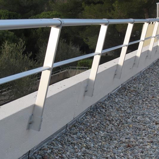 aluminum railing with bars outdoor for balconies vectaco