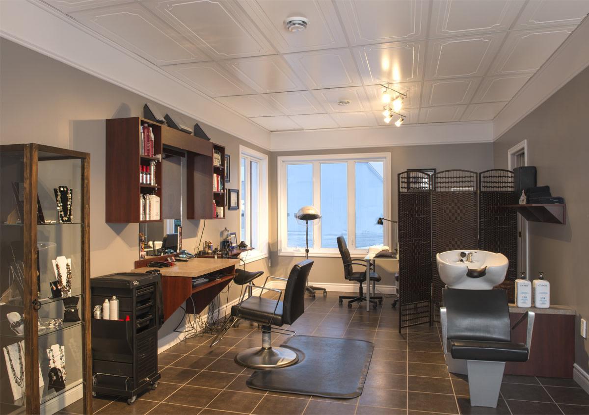 Wooden suspended ceiling / tile / decorative - OASIS - MUR design