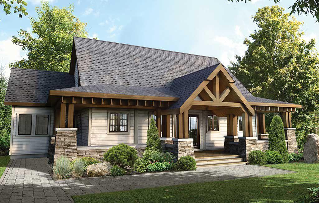 Prefab House Log Contemporary Timber Frame