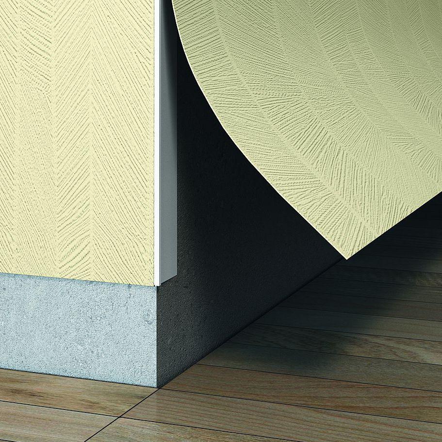 Polypropylene edge trim / outside corner / for partition walls - TEL ...