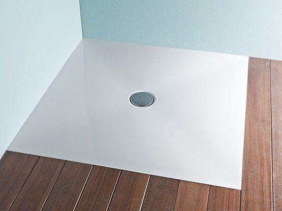 corner shower base solid surface step zero