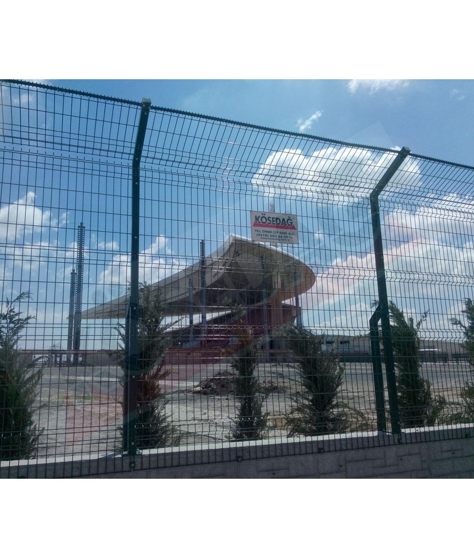 Athletic field fence / welded mesh / metal - STANDARD - KOSEDAG FENCE