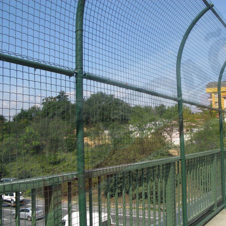 Industrial fence / welded mesh / PVC - KOSEDAG FENCE