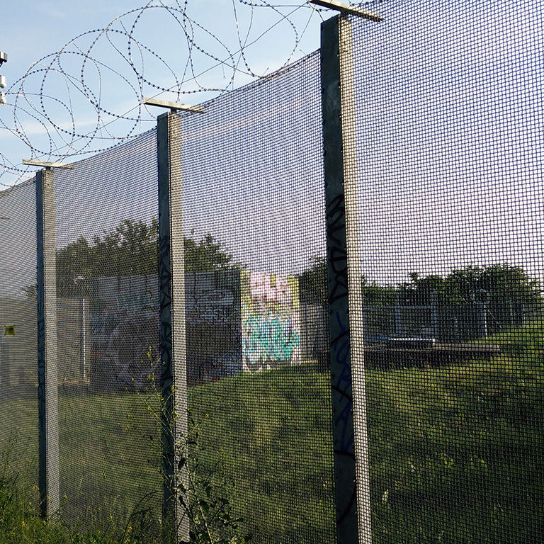 Green Space Fence For Construction Sites For Industrial