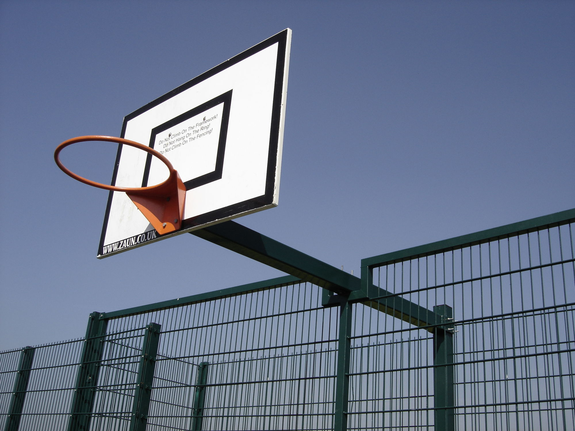 Athletic Field Fence Wire Mesh Galvanized Steel Basketball