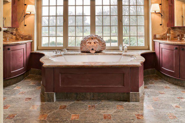 Kitchen Floor Marble bathroom tile / kitchen / floor / marble - classic - van den weghe