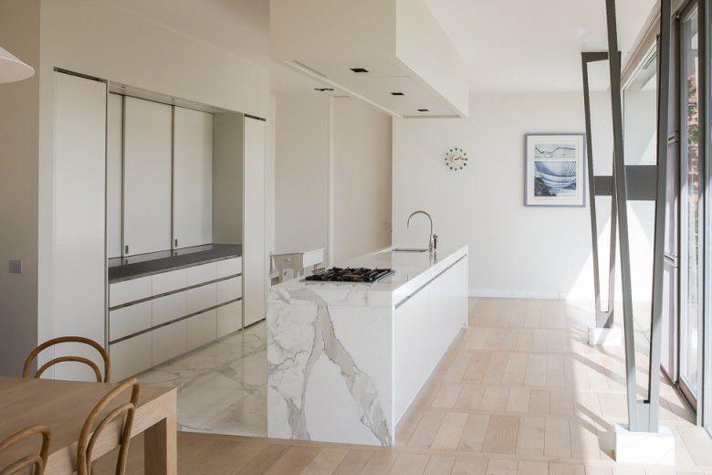 Kitchen Tile Floor Marble Matte