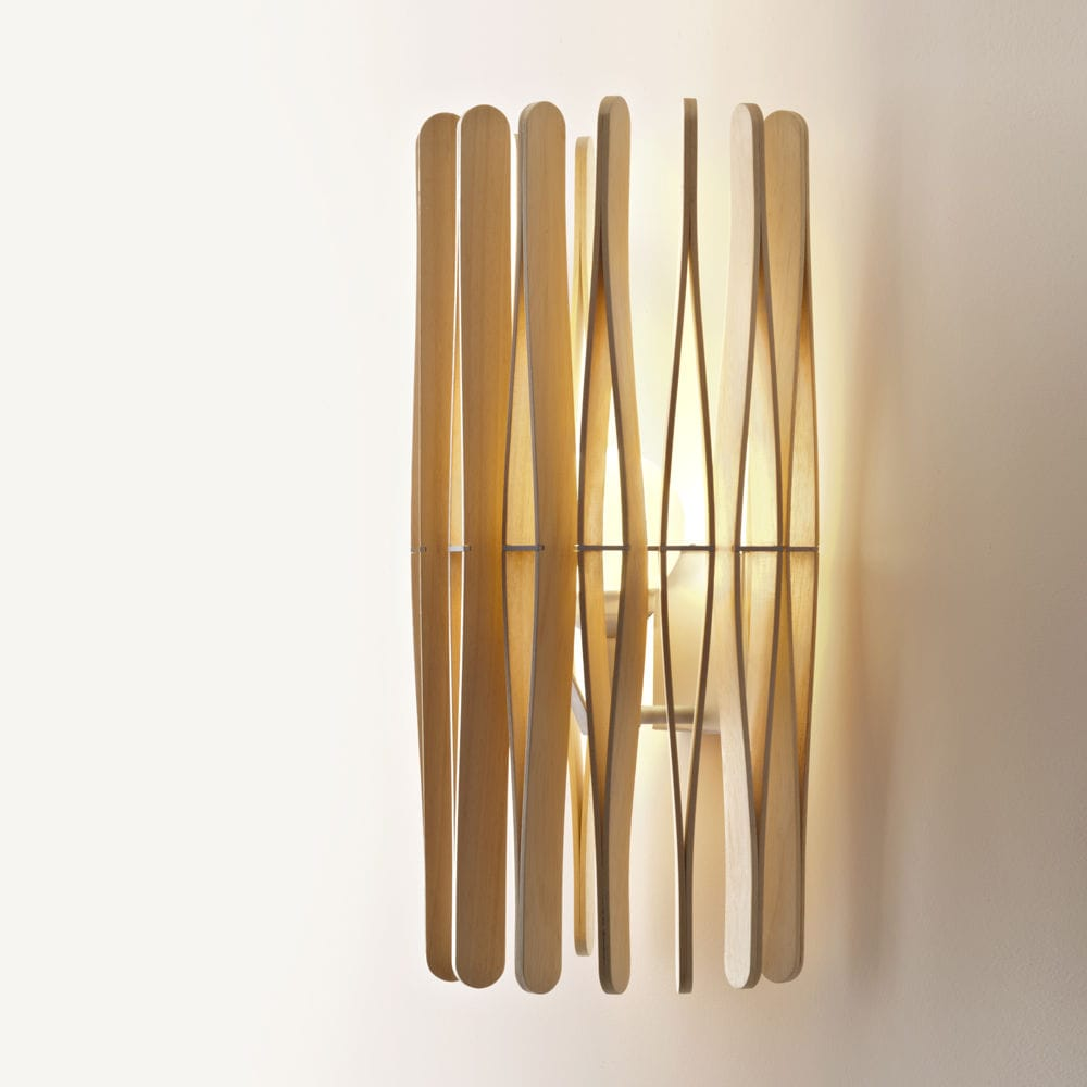Contemporary wall light aluminum wooden led stick f23 contemporary wall light aluminum wooden led stick f23 fabbian illuminazione mozeypictures Images
