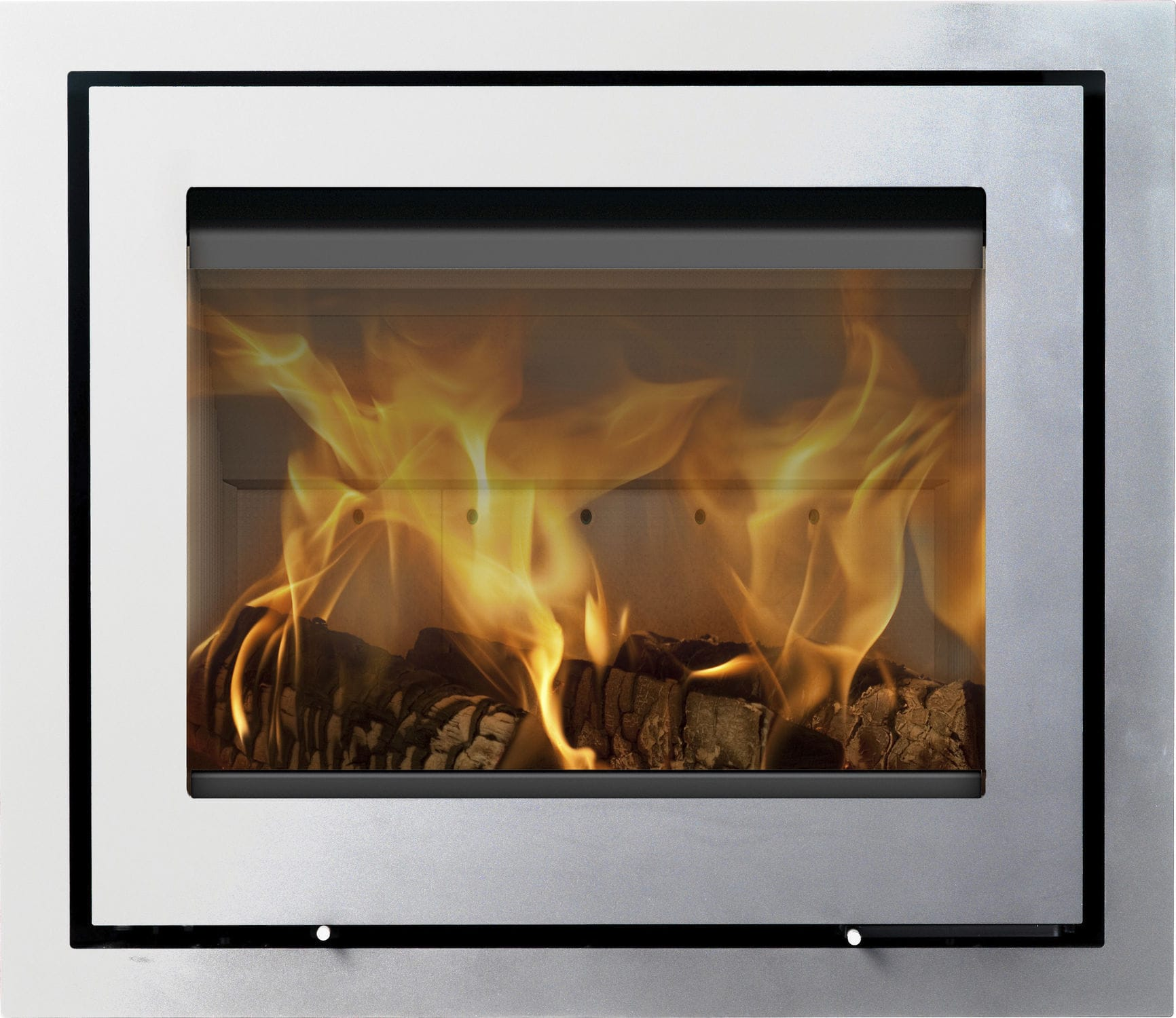 Wood fireplace insert 1 sided H570 R LOTUS Heating Systems AS