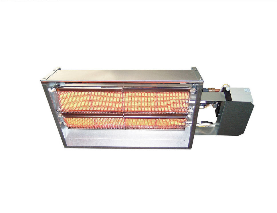 Ceiling Infrared Heater / Wall Mounted / Gas / Commercial   SRII
