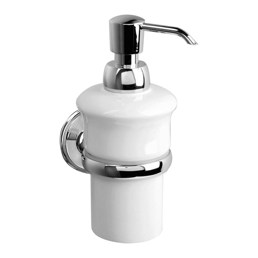 Commercial Soap Dispenser Wall Mounted Porcelain Manual On639c