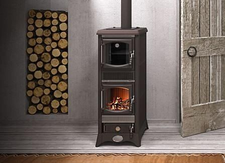 ... Wood Heating Stove / Traditional / Cast Iron / Ceramic ...