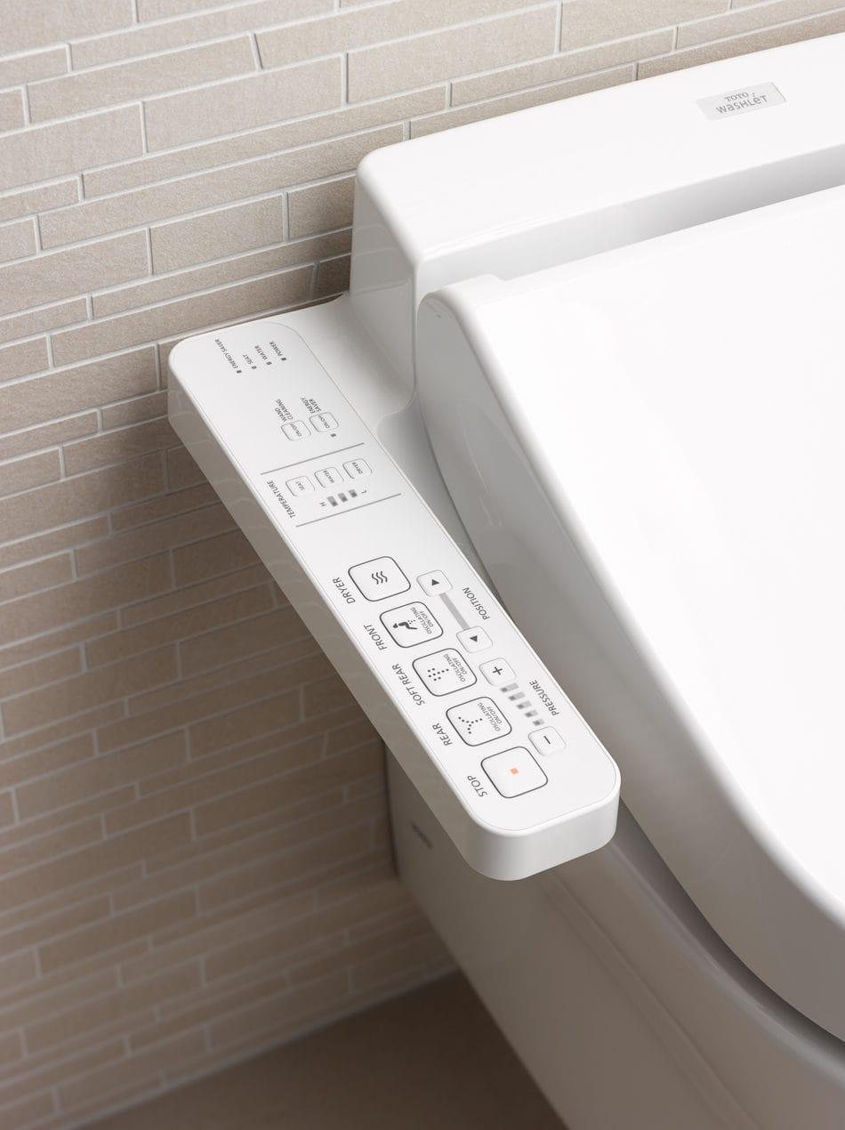 Electronic toilet seat / Washlet® / ceramic - EK 2.0 - TOTO Europe ...