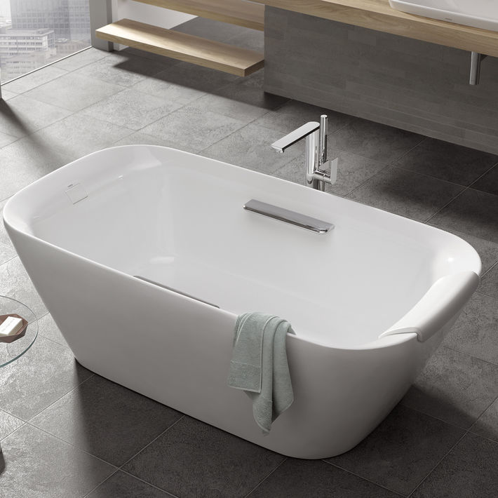 Delicieux Free Standing Bathtub / Oval / Composite   NEOREST