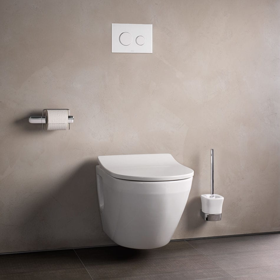 Wall-hung toilet / ceramic / rimless - NC - TOTO Europe GmbH