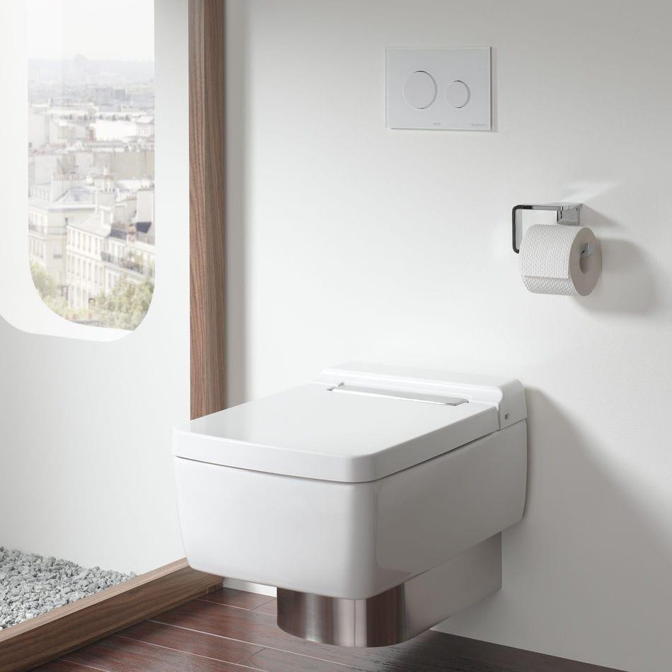 Wall-hung toilet / ceramic / rimless - SG - TOTO Europe GmbH