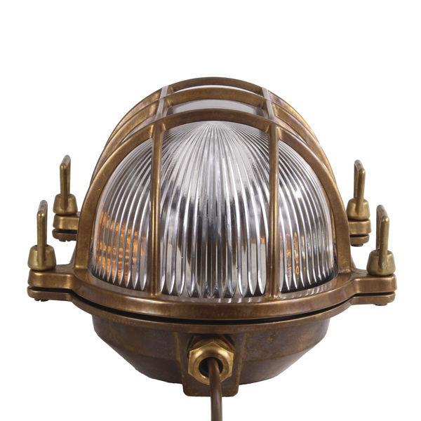 Marine Wall Light: ... Traditional wall light / brass ROSS MARINE : MLWL215 MULLAN LIGHTING ...,Lighting