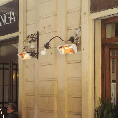 Wall Mounted Infrared Patio Heater / Electric   HELIOSA 66