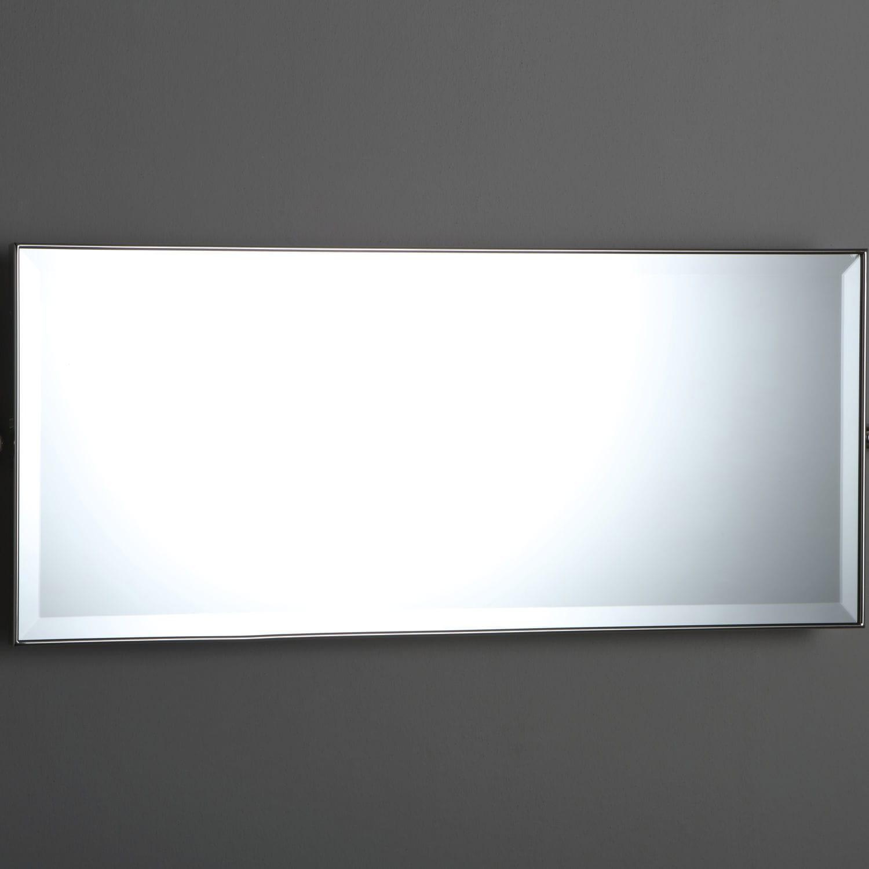 wall mounted bathroom mirror tilting classic rectangular