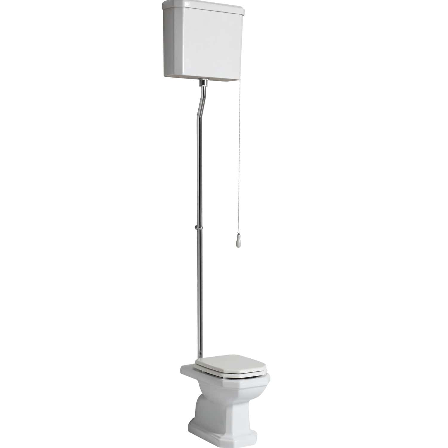 free standing toilet ceramic with high tank provence 700