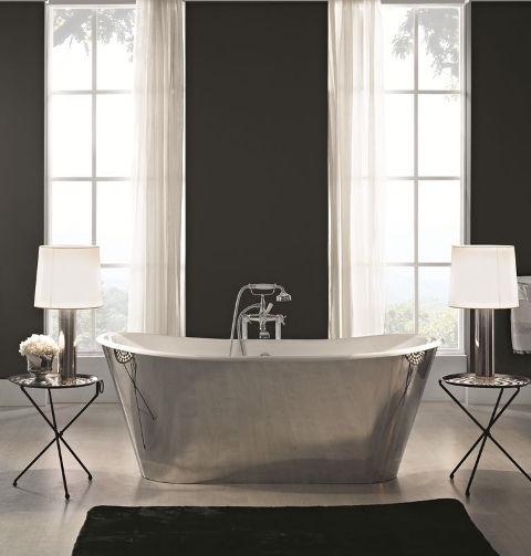 free standing bathtub oval cast iron 9970a 9970ax bleu