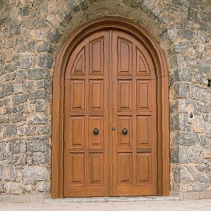 Entry Door Swing Wooden For Public Buildings Special
