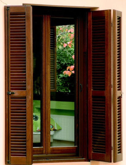 Folding shutter / wooden / door - interSCALA