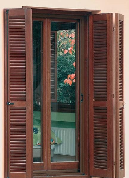 Folding shutters / wooden / door - interSCALA
