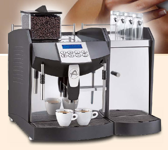 Commercial Automatic Espresso Machine combined coffee machine / commercial / automatic - santos