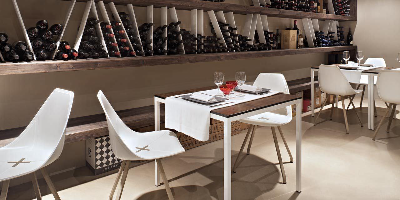 contemporary cafe furniture. Contemporary Restaurant Chair / Fabric - X By Mario Mazzer Cafe Furniture E