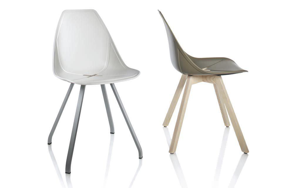... Contemporary Restaurant Chair / Fabric X By Mario Mazzer ALMA DESIGN  S.R.L. ...