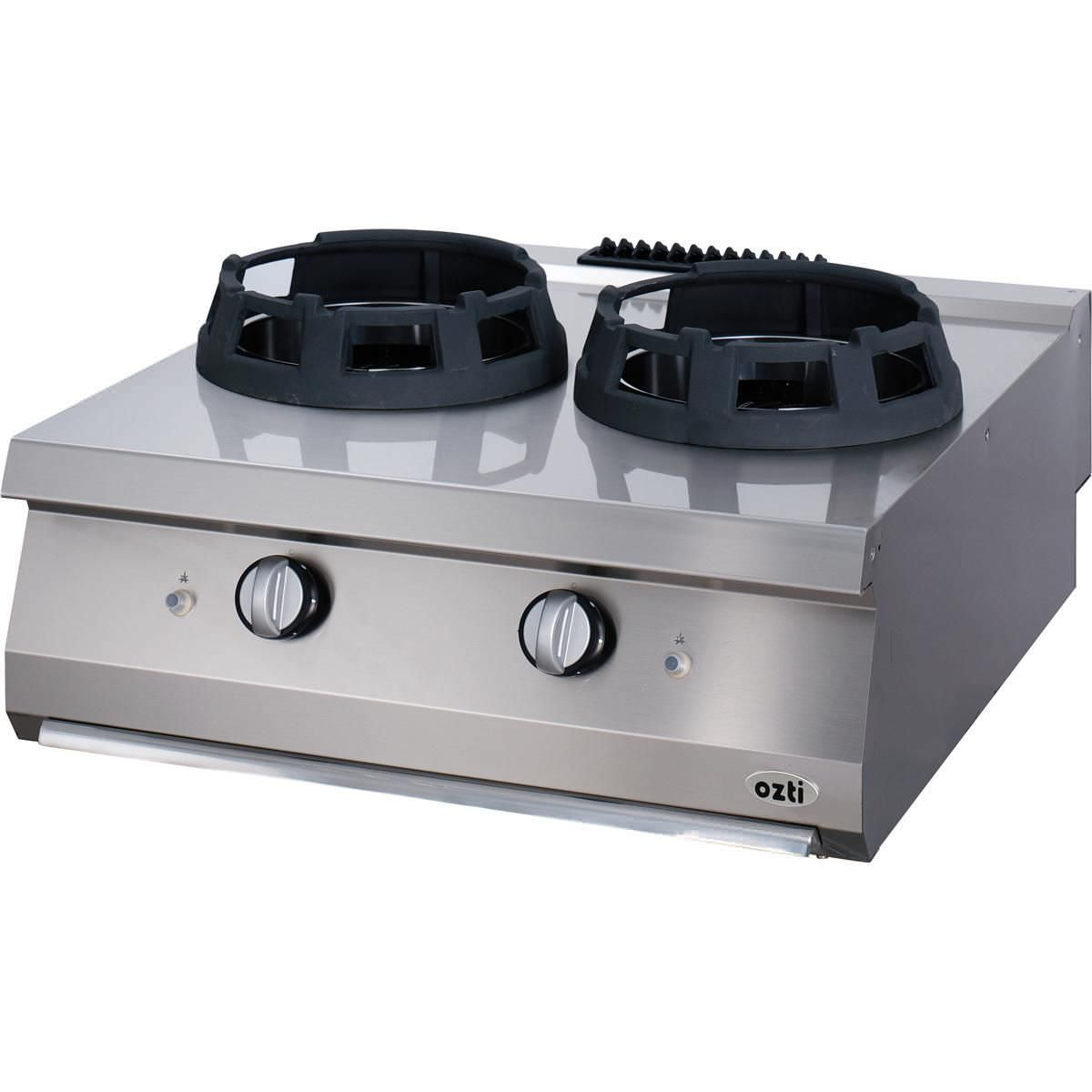 Gas cooktop / commercial / cast iron / wok - 700 : 7865.N1.80703 ...