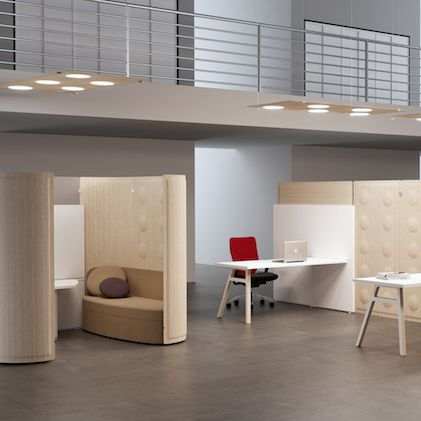 Interior Wall Sound Absorbing Panel / Wooden / Fabric / For Offices   TRÈS  SOUND