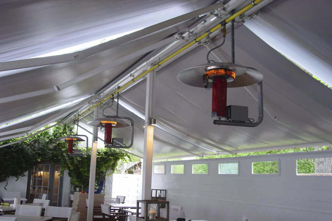 Floor Mounted Infrared Patio Heater / Electric   UFO