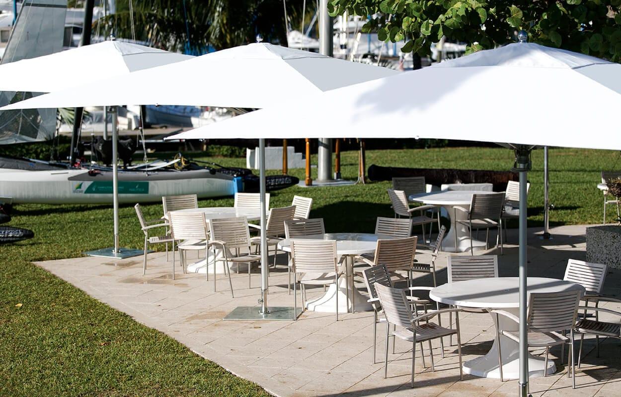 Commercial Patio Umbrella / Fabric BAY MASTER MAX : CLASSIC TUUCI ...