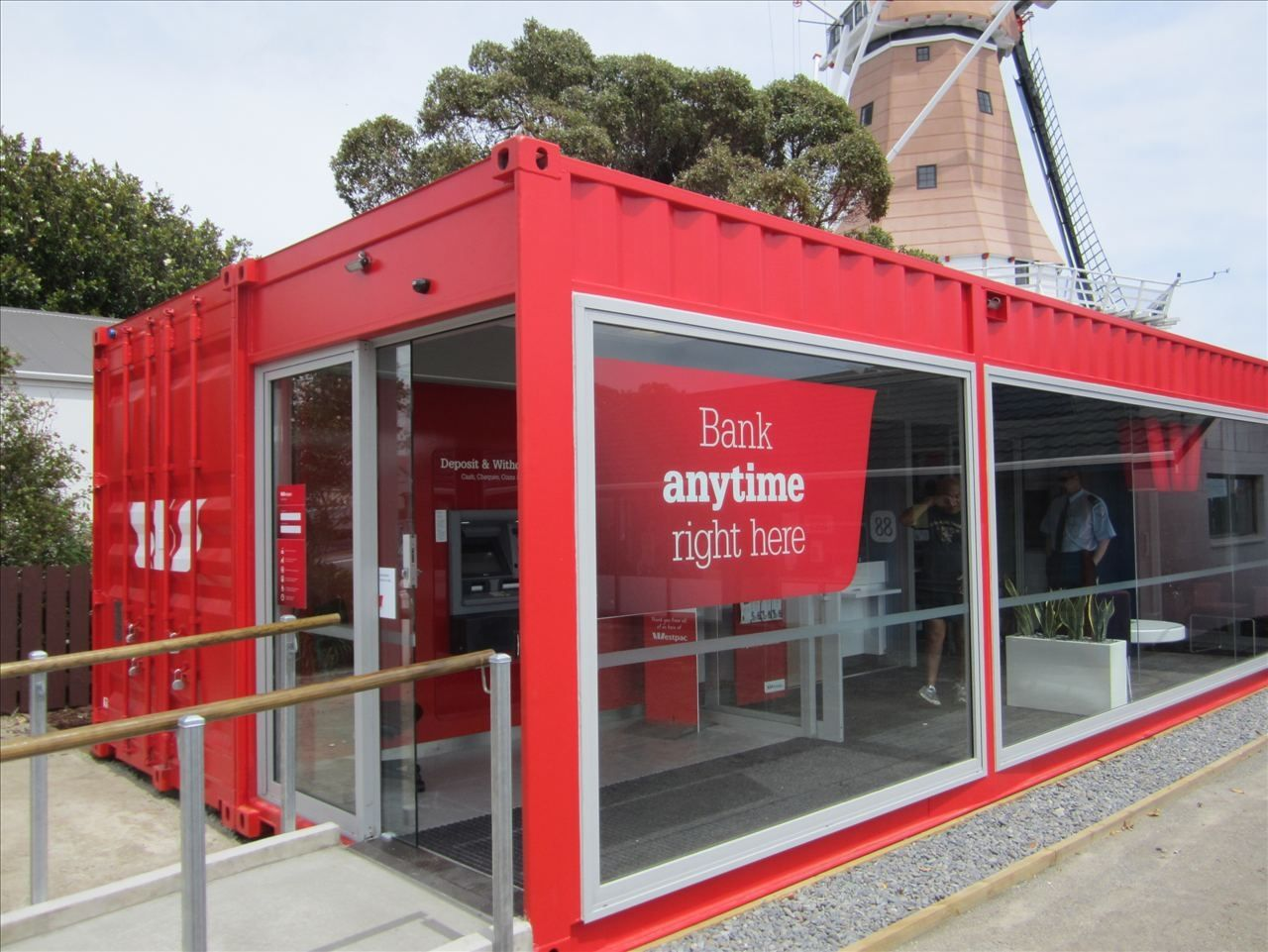 Commercial container / for offices - WESTPAC MOBILE BANK BRANCH ...