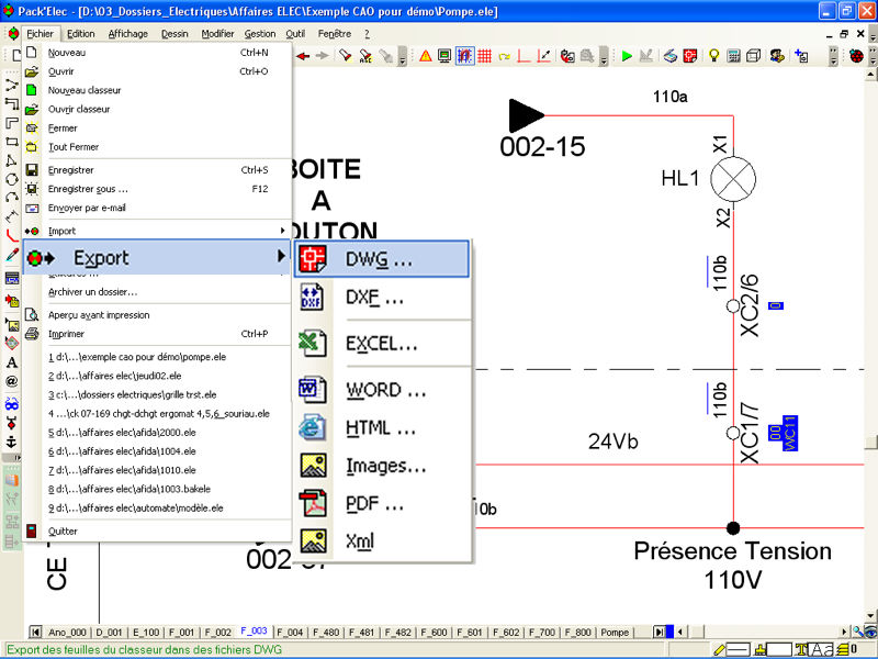 CAD software / drawing / design / for electrical installations ...