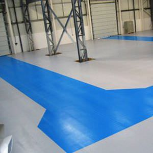 Liquid Epoxy Resin Flooring / Wood Look / High Resistance. WATER BASED  MATTE Watco Industrial Flooring
