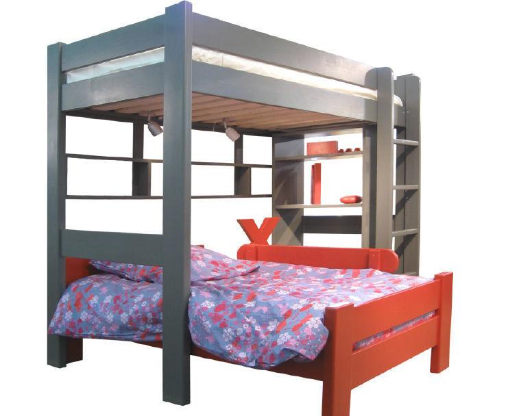 Loft bed   single   contemporary   child s DOMINIQUE   SUR 172 90 I BB  MATHY. Loft bed   single   contemporary   child s   DOMINIQUE   SUR 172