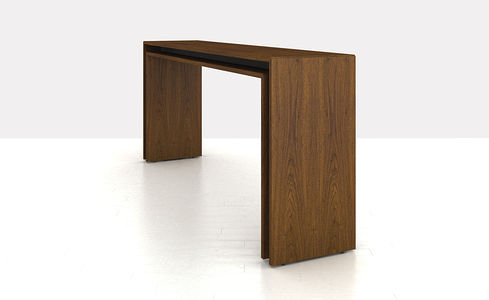 ... Contemporary High Bar Table / Wooden / Rectangular / Commercial PEER By  Ai3 Geiger ...