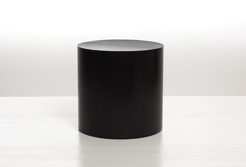 Exceptionnel Contemporary Side Table / Wooden / Round / Commercial   DRUM By Amir Paknya