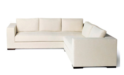 Corner Sofa / Contemporary / Fabric / 5 Seater   TUXEDO