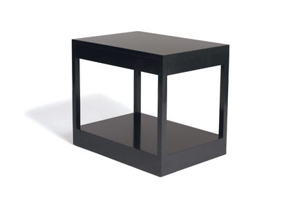 Contemporary Side Table Wooden Rectangular CALVIN KLEIN HOME - Calvin coffee table