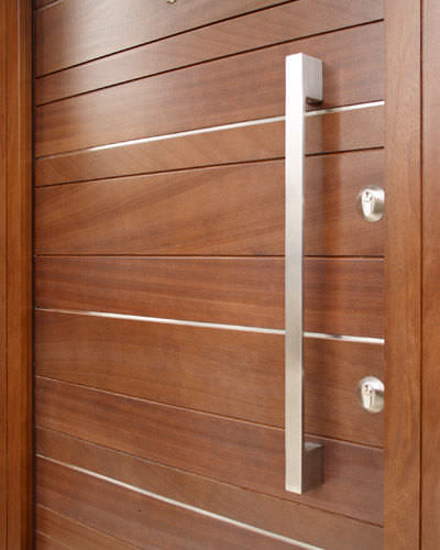 door pull handle / stainless steel / contemporary door ... & Door pull handle / stainless steel / contemporary - OPTION 10 ...