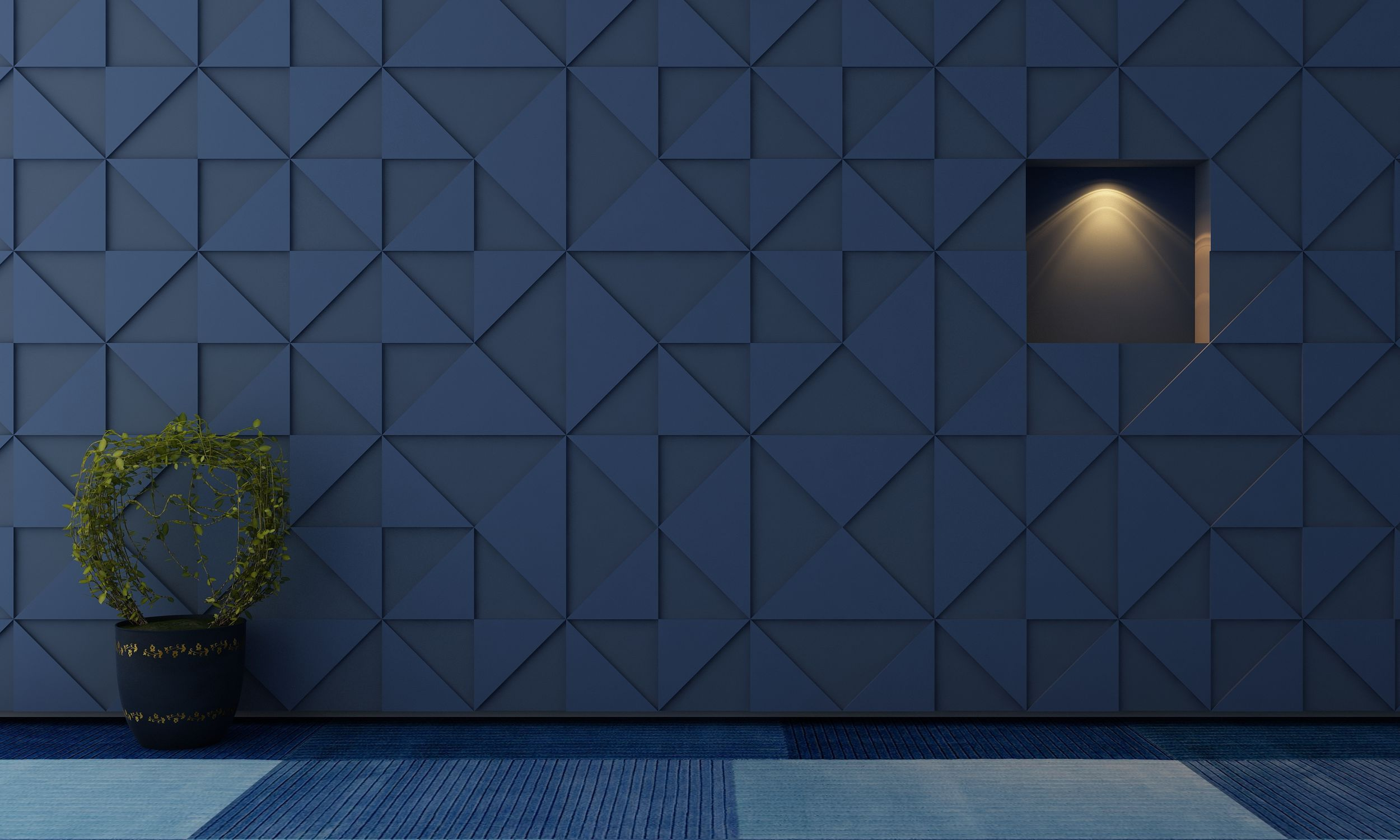 Interior acoustic panel / for ceilings / for interior walls / for ...