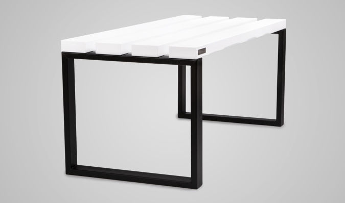 Locker Room Bench / Contemporary / Wooden / Metal   MITA Bench For Changing  Room