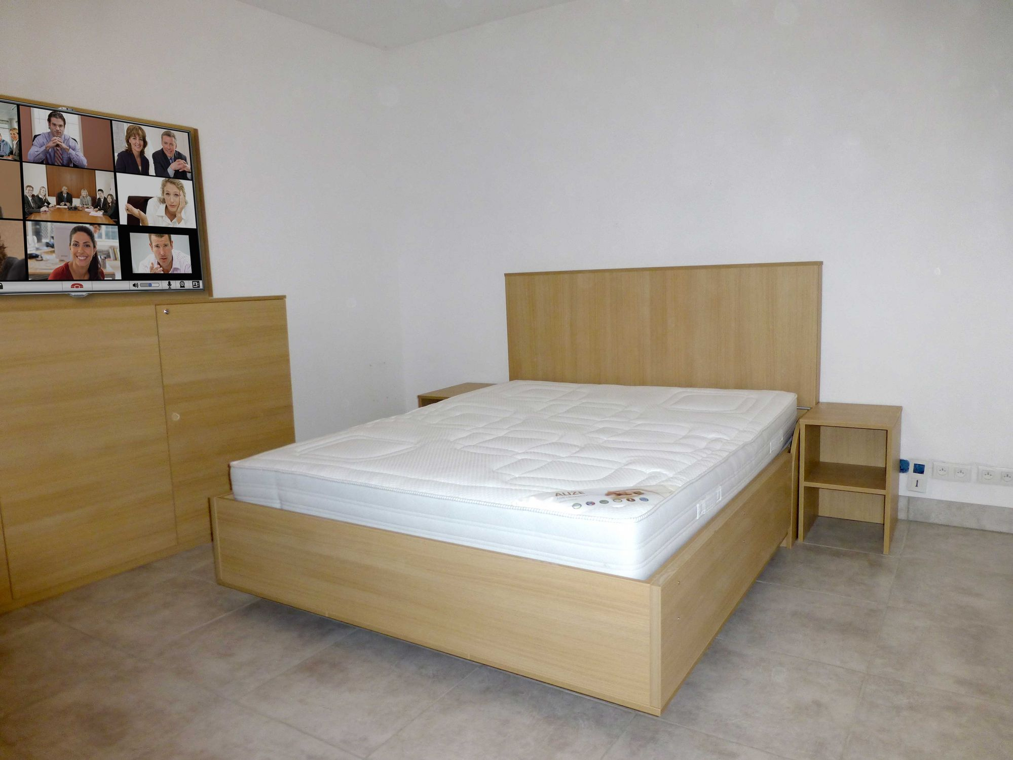 Wall bed double contemporary custom MANON LIFTSECURITY
