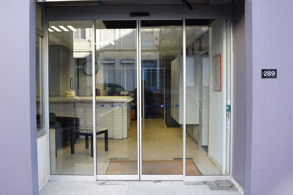 Entry Door Sliding Aluminum Automatic Smf Services