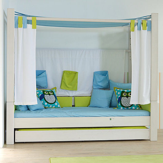 canopy bed / pull-out / single / contemporary - DEBE.DELUXE : TEENAGERS 04