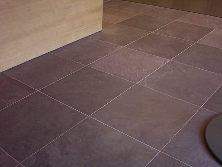 Indoor Tile Floor Slate Matte Purple Natural Slate Map